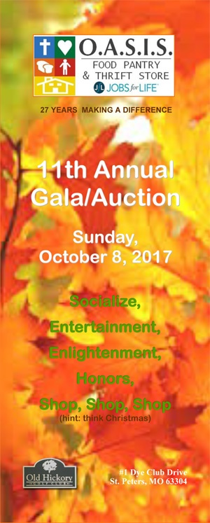 O.A.S.I.S. 11th Annual Gala/Auction @ Old Hickory Golf Club | Saint Peters | Missouri | United States