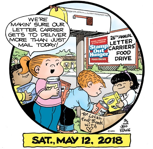 Letter Carriers Stamp Our Hunger Food Drive