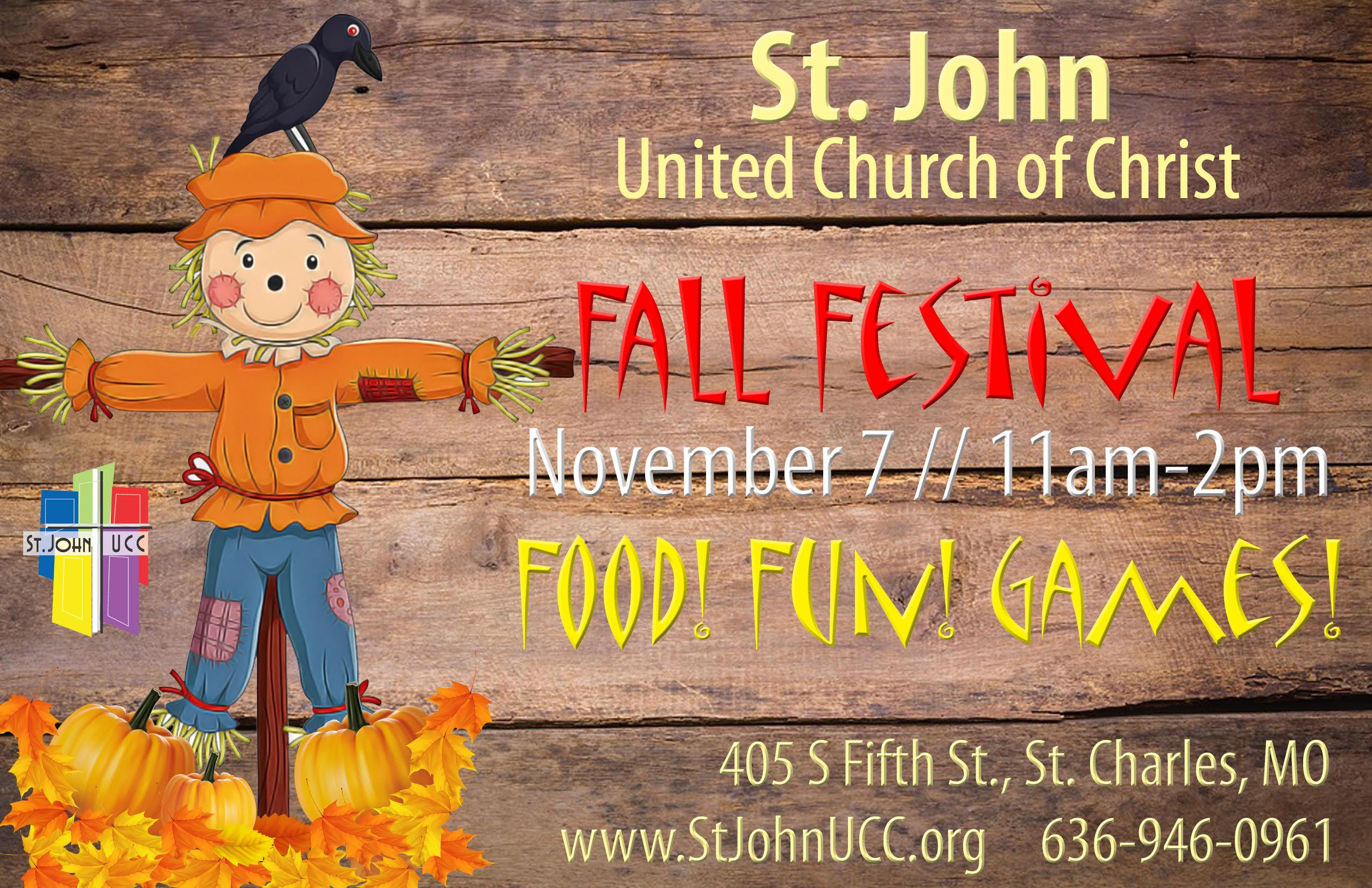 St. John United Church of Christ Fall Festival